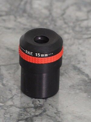 "Edmund Scientific 15mm eyepiece 1.25"" for Telescope used"