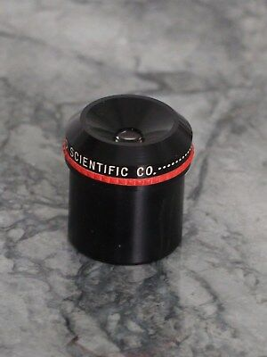 "Edmund Scientific 8mm eyepiece 1.25"" for Telescope used"