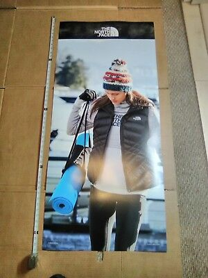 Big 4ft The North Face Poster Banner Ad Display
