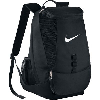 Nike Club Team Swoosh Backpack Sports Gym Football Training Rucksack School