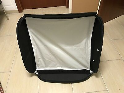Lastolite Ezybox Hot Shoe Softbox 54x54 cm inkl. Systemblitzadapter Top-Zustand!