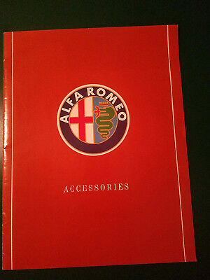 Alfa Romeo 1988 Accessories Sales Brochure Spider / Milano