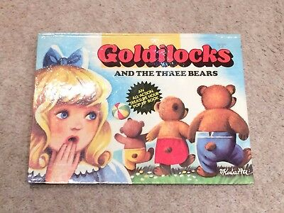 Hardback Goldilocks And the three bears An all action treasure hour pop-up book
