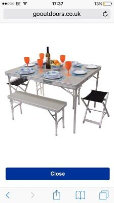 HI Gear Elite C&ing Picnic Table Set - £59.99 | PicClick UK  sc 1 th 300 & Inspiring Hi Gear Elite Picnic Table Set Gallery - Best Image Engine ...