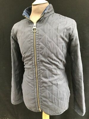 Barbour Quilted Coat/Jacket, Navy Blue, Size Medium, RRP £189 *Eskdale Sport*