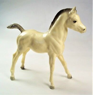"Breyer Colt Cream and Gray 7"" Vintage Collectable"
