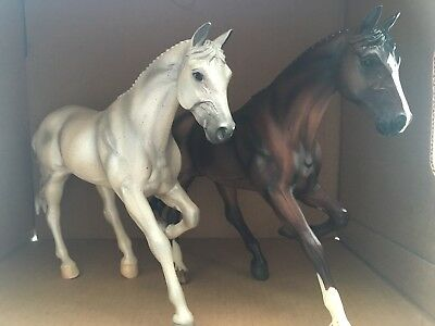 Breyer Sapphire and Snowman Traditional Models