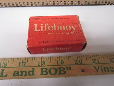 Vintage Lifebuoy Health Soap with Puralin Lever Brothers Company, New York