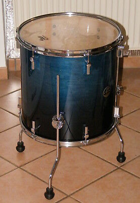 Sonor Force 2007 Tom 16 Zoll Blue Fade Standtom