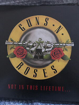 Guns N' Roses 2016 Not In This Lifetime Tour VIP Hardcover Book 5793/15000