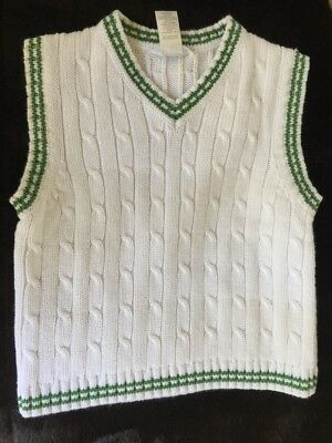 Boys Size 4 Janie And Jack Sweater Vest Easter Spring  Preppy Cute 4T