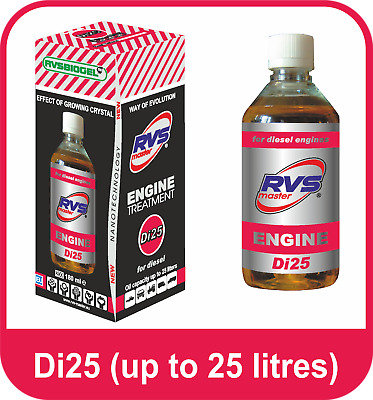 RVS -Master Di25 for 4-Stroke Diesel Engines up to 25 litres, anti wear and tear