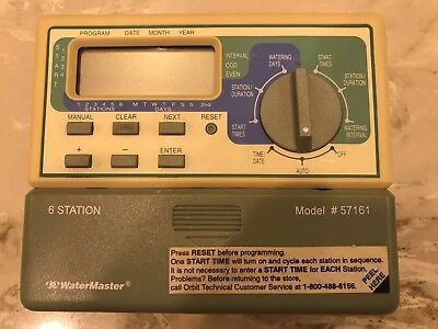 WaterMaster 6 Six Station Model 57161 Automatic Sprinkler Controller (A5)