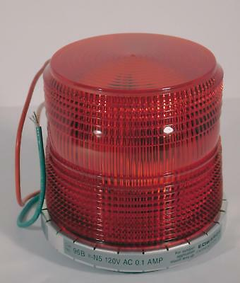 Edwards 96BR-N5 Red AdaptaBeacon Strobe Light Warning / Alarm Light NOS NIB