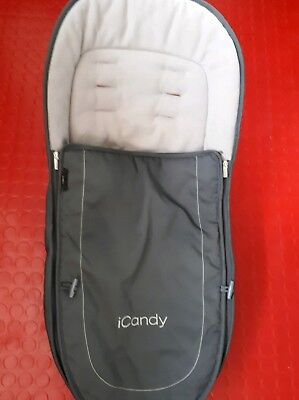icandy Peach 3 Footmuff Truffle