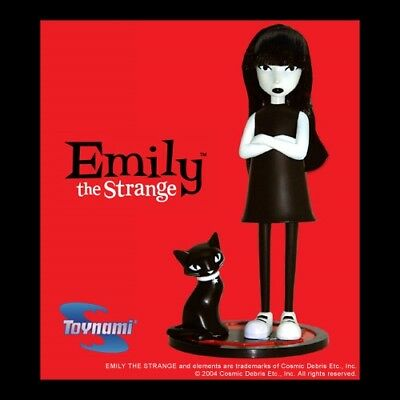 """Emily the Strange 2004 ACTION FIGURE """"Armed and Strangeous""""- NEW IN BOX!! RARE!!"""