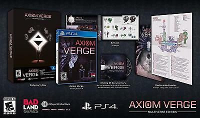 Axiom Verge: Multiverse Edition (PlayStation 4, PS4)