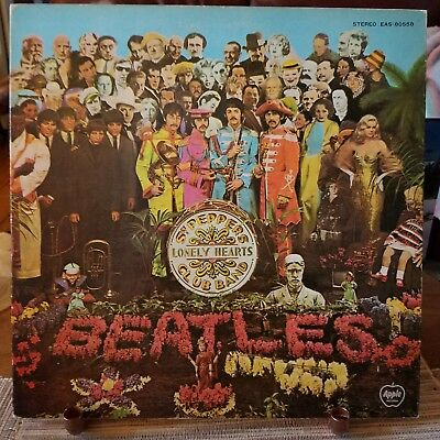 The Beatles●Sgt Peppers Lonely Hearts Club Band●Apple●Lp●Eas 80558●Japanese