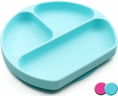 SiliKong Silicone Suction Plates For Toddlers, BPA Free, Dishwasher, Microwave &