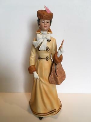 "Vintage Avon Porcelain ""The 1981 Albee Award"" Victorian Lady Figurine"