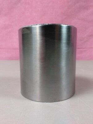 """4140 Steel Heat Treated To 27-33 Rockwell 3"""" X 3 1/4"""" New Old Stock Round Bar"""