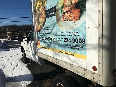 2000 Ford F350 Truck with Refrigerated Box