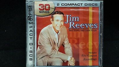 Dear Hearts and Gentle People [Legacy] by Jim Reeves (CD, Apr-2005, 2 Discs, Leg