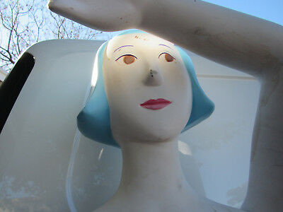 1980's Retro Young Girl Mannequin From Walt Disney Display Theme Park Full Body