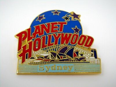 Vintage Collectible Pin:  Planet Hollywood Sydney Australia