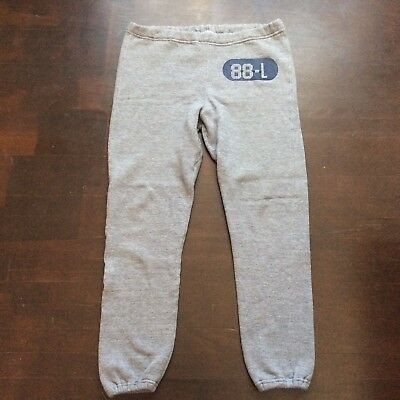Vintage Russell Athletic Gray Triblend Sweatpants Sweats Mens Large 36x29 USA
