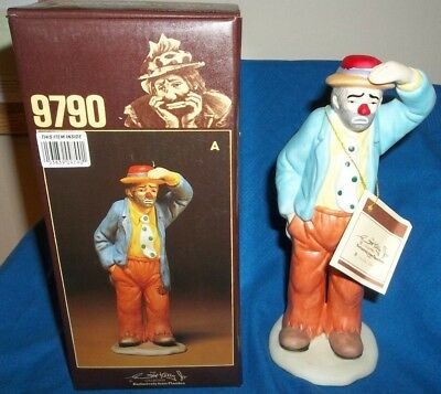 The Emmett Kelly, Jr. Signature Collection - 9790 A, Flambro, With Box