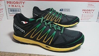 New Salomon X Tour Athletic Trail Running Shoes Mens Sz 9 Fast Ship