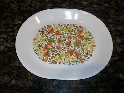 Corelle Corning Ware Indian Summer Large Oval Meat Serving Platter Cookie Plate