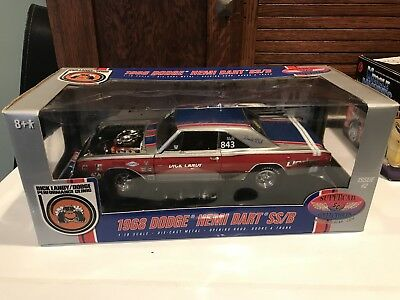 Ertl Supercar Collectibles 1/18 Dick Landy Dodge Hemi Dart SS/B #50248 2005
