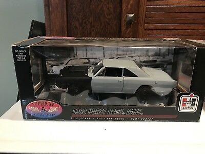 1/18 Supercar Collectible 1968 Hurst Shifters Hemi Dart Diecast Dodge 50198