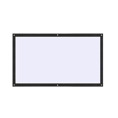 70 Inch 16:9 Polyester Projector Screen Portable Soft Video