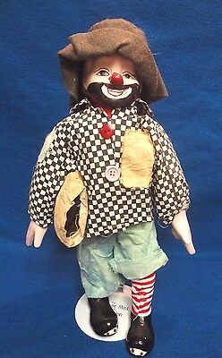 Vintage Hobo Clowns Porcelain Dolls  Heritage Mint Ltd. Collection  2 Dolls