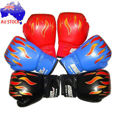 Children Kids Boxing Sparring Training Gloves MMA Kick Boxing Punching Gloves MN