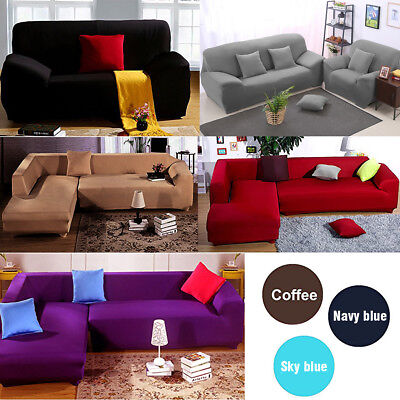 1 Seater Spandex Recliner Sofa Cover Chair Couch Stretch Slip Covers