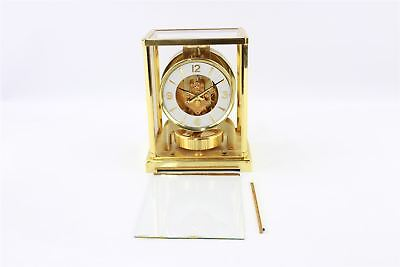 Brilliant Vintage Hand-Wind BRASS ATMOS Carriage Clock Swiss Made Spares&Repairs