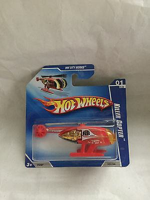 Hot Wheels Killer Copter 107/166  Neu New Ovp Short Card