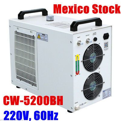 Mexico! S&A 220V CW-5200BH Water Chiller for 8KW Spindle / Welding / Laser tube