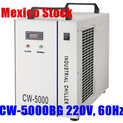 Mexico 220V CW-5000BG S&A Water Chiller for 80W/100W CO2 Laser Tube Cooler 60Hz