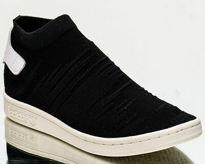 watch dd39c fea6f adidas Wmns Stan Smith Sock Primeknit women lifestyle sneakers NEW black  BY9251