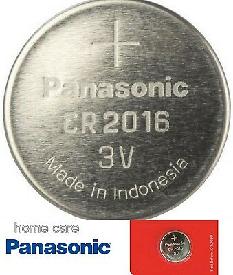 Panasonic CR2016 3v Lithium Coin Cell battery Car Key Fobs Toys Remote Batteries
