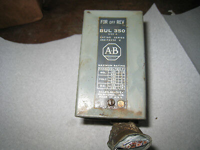 Lathe Drum Switch Forward/reverse Switch Allen Bradley