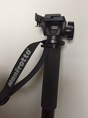 Manfrotto monohead 680B & 234RC Tilt head with quick release