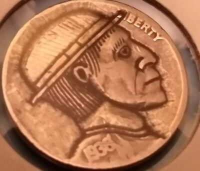 The accountant hobo nickel by Brent
