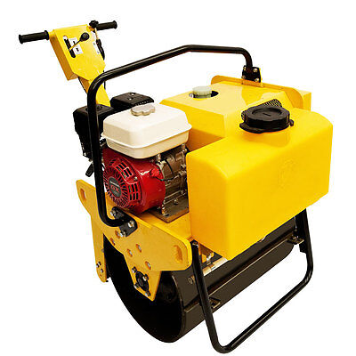 Vibratory Roller 550 lbs with Honda GX160, for road and asphalt TEQMAC NEW !