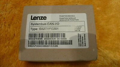 Lenze Funktionsmodul Systembus-CAN-I/O Type: E82ZAFC201